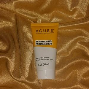 Acure Brightening Facial Scrub. Travel Size